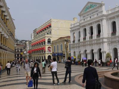Largo do Senado in Portuguese Macau