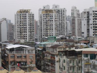 Residential towers in Macau