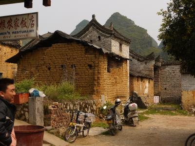 Bicycle touring near Yangshuo