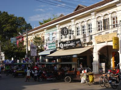 Old market in Siem Reap
