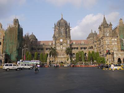 Victoria Terminus train station in Mumbai
