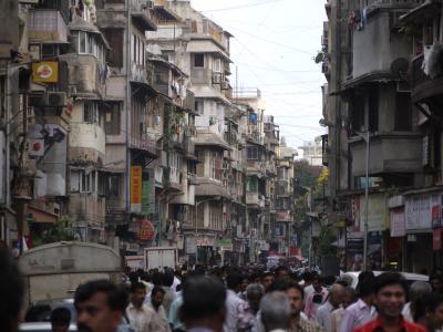 Chor Bazaar district in Mumbai