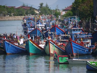 Fisherboats in Banda Aceh