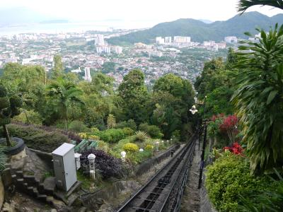 Funicular up Penang Hill