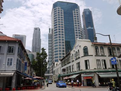 Old and new in Singapore