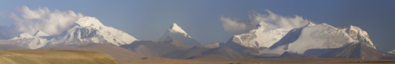Panorama of the main Himalaya range