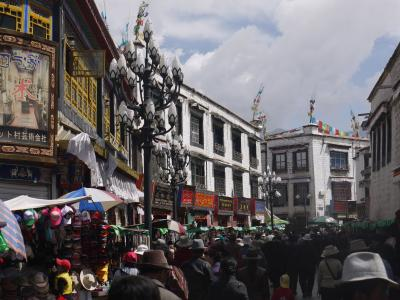 Old Tibetan Bokhara district in Lhasa