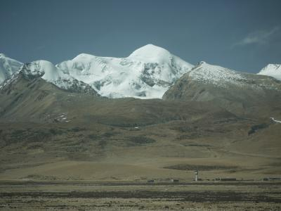 Entering the Tibetan Plateau by train