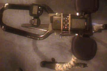 mounted Garmin GPS, 9.8k
