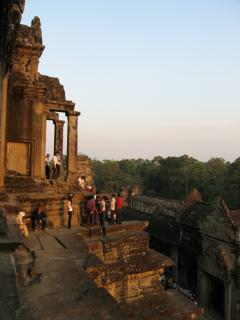 Angkor Wat, central temple complex
