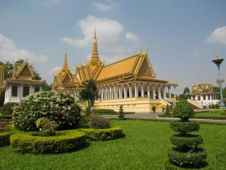 Throne hall of Phnom Penh palace