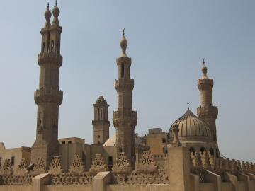 Al-Azhar mosque and university, Islamic Cairo