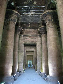 Temple at Edfu, south of Luxor