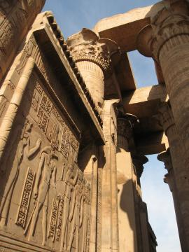 Temple at Kom Ombo, south of Luxor