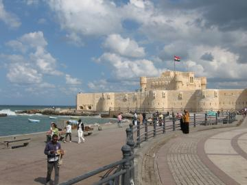 Fort Qaitbey in Alexandria