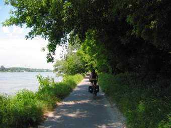 Danube bike path, Austria