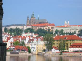 The Hradschin: castle hill in Prague