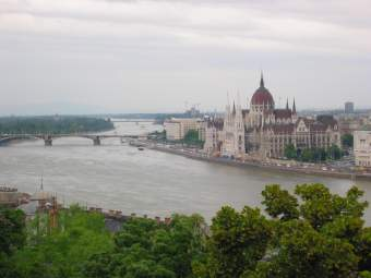Budapest: view from Buda hill