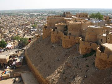 Battlements of Jaisalmer Fort