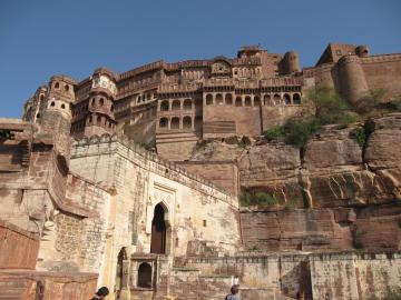 Entrance to the Jodhpur Fort