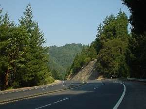 downhill on highway 101