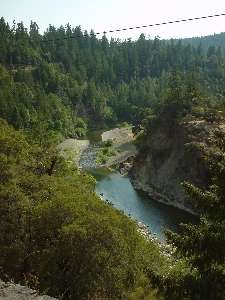 Eel Creek from above