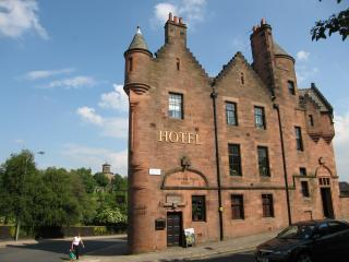 Our hotel in Glasgow