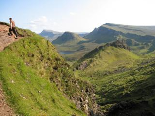 Isle of Skye, hiking near Flodigarry