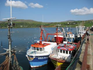 Isle of Skye, Uig harbor