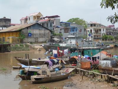 Boats in Haiphong