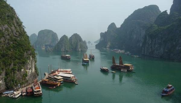 Halong Bay, Gulf of Tonkin, South China Sea