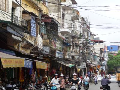 Street in Hanoi's old quarter