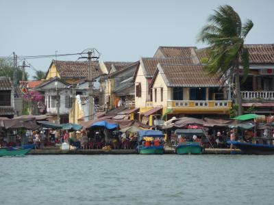 The waterfront of Hoi An