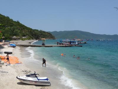 Beach on an island near Nha Trang