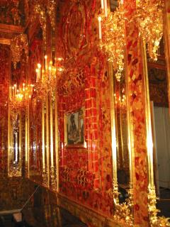 Amber Room in Catherine's Palace