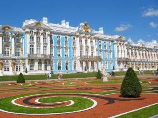 Catherine Palace in Tsarskoje Selo