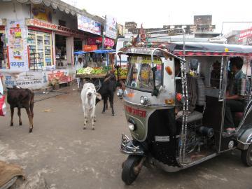 Tuk-Tuk U Bikaner, Indija
