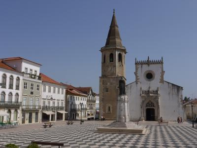Cathedral square in Tomar